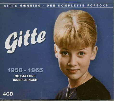 Gitte Haenning Cd  Gitte 19581965 Den Komplette Popboks