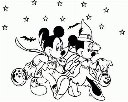 Coloring Mouse Minnie Camping Mickey Pages Coloringhome