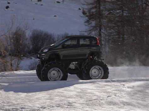 monster trucks videos 2013 fiat panda monster truck 2013 exotic car image 04 of 8