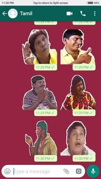 vadivelu sticker pack  whatsapp tamil  android apk
