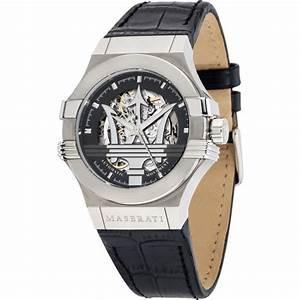 Montre Maserati Automatique : montre maserati r8821108001 montre automatique cuir ~ Melissatoandfro.com Idées de Décoration