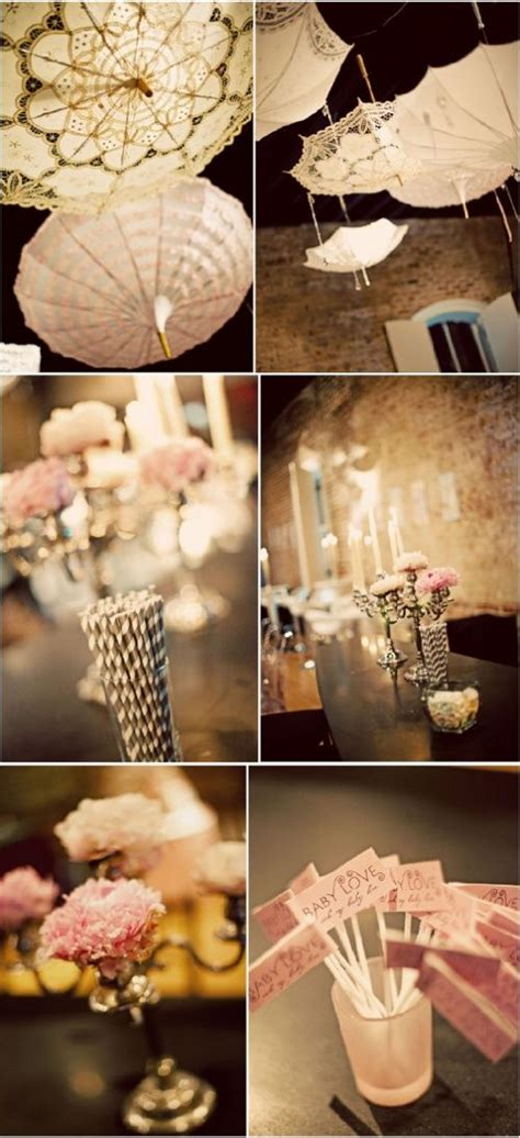 Pink Hanging Decorations - 123 best images about reception decor umbrellas on