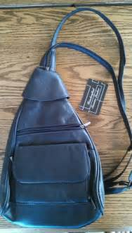 Backpack with Leather Straps