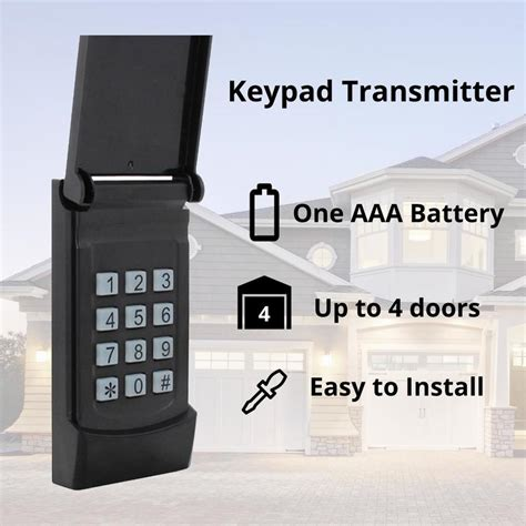 skylink wireless rolling code garage door opener keypad  lowescom