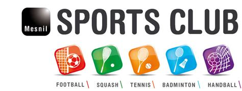logo salle de sport badminton salle de sport espace repas foot loisirs mesnil laurent