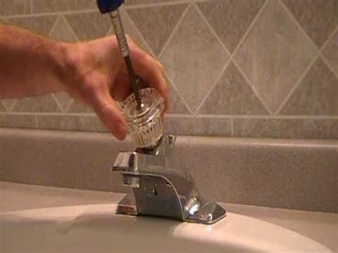 replace repair  leaky moen cartridge   bathroom