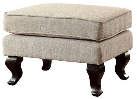 Willow Beige Accent Ottoman, Cm-ac6271bg-ot, Furniture Of