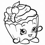 Coloring Pages Shopkin Shopkins Printable Cartoon Ice Cream Colouring Print Cute April Sheets Cakes sketch template