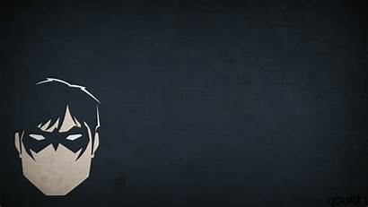 Nightwing Wallpapers Superhero Dc Comics Artwork Minimalism