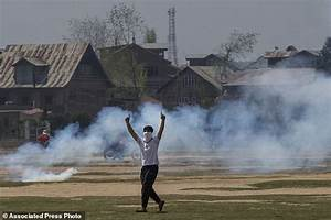 Anti-India protests erupt in Kashmir amid deadly fighting ...
