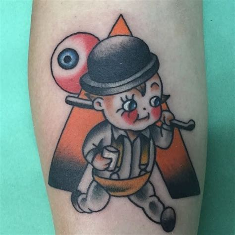 curious clockwork orange tattoos tattoodo