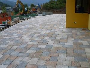 Cement outdoor floor tiles with stone effect borgo sabbia for Exterior flooring