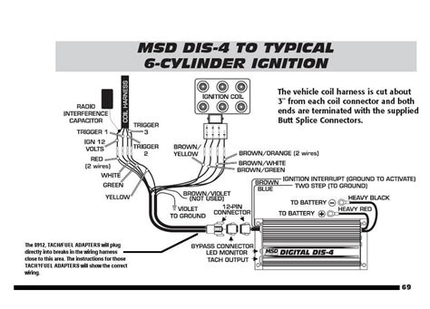 Pac Adapter Wiring Diagram by Ford 6 Cylinder To Dis 4 With Tach Adapters Msd