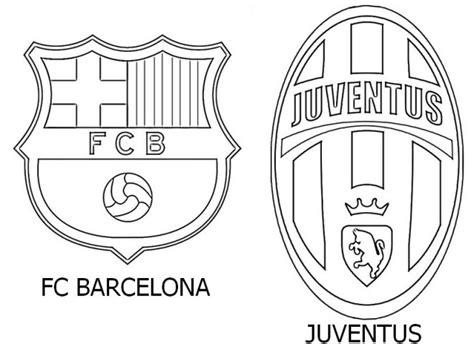 coloriage barcelone  juventus dessin gratuit  imprimer