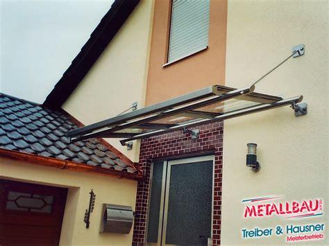 Metallbau   Treiber & Hausner   Überdachung   Giebeldach