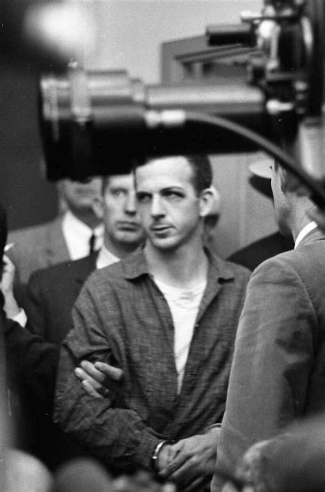 Lee Harvey Oswald News Conference Dallas Police
