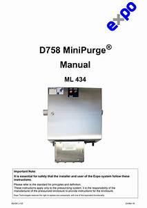 D758 Motor Purge Manual
