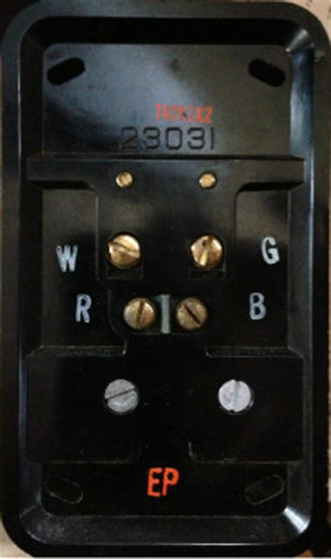 Help With Wiring Vintage Wire Honeywell Thermostat
