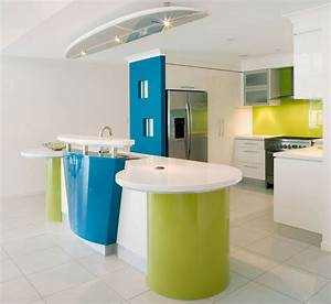 colorful modern minimalist kitchen design decobizzcom With kitchen colors with white cabinets with cool kids wall art