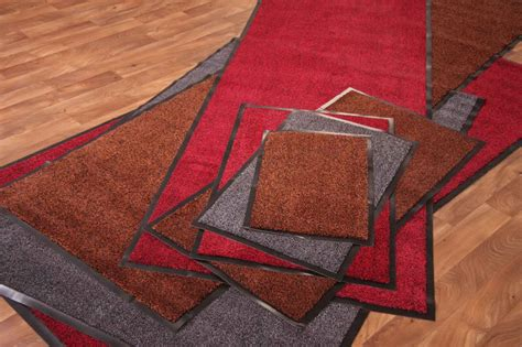 Kitchen Mats Large Runner Mats Long Rugs Easy Clean Red