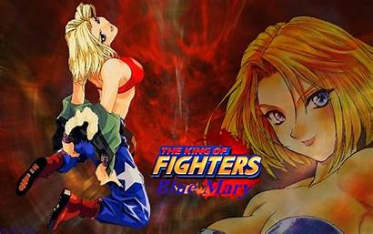 Kof Fighters King Mary Characters Background Fighter