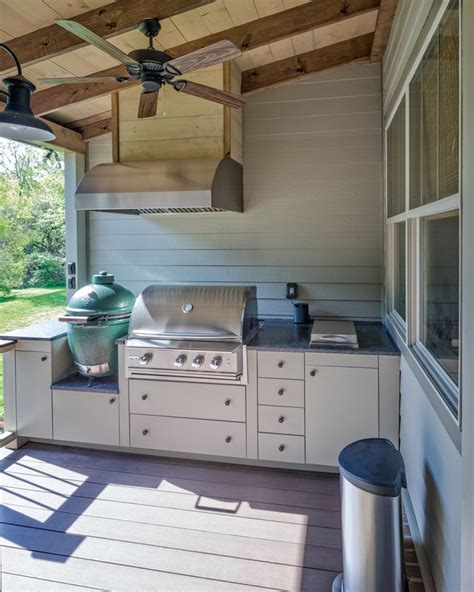 build kitchen island table rethinking the outdoor kitchen concept the porch