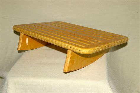 under desk rocking footrest under desk foot rest prototype by michaelray