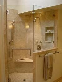 interesting walk in corner shower Bathroom : Gorgeous Corner Shower Stall With Modern Design - Temporarist