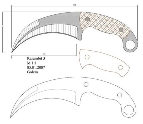 knife templates modelo 95 facas knife em escala 1 1 knives blacksmithing and weapons