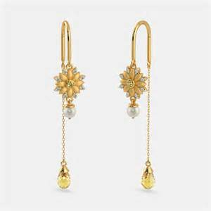 sui dhaga earrings the pihu sui dhaga earrings bluestone