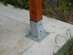 Ancrage Poteau Bois : observatoire ~ Edinachiropracticcenter.com Idées de Décoration