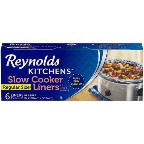 liners slow cooker reynolds target 6ct bags food