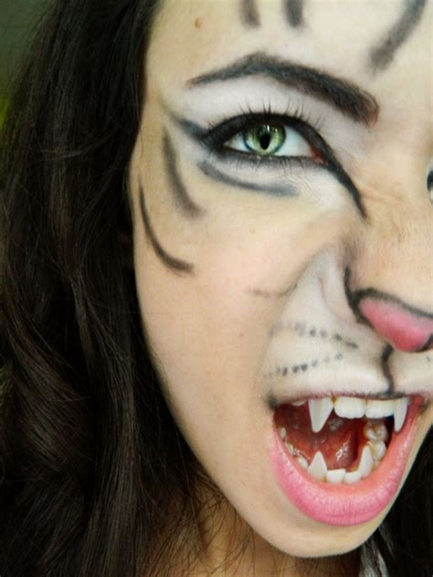halloween schminken  verblueffende ideen