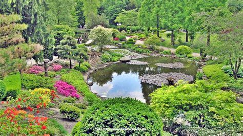 Japanischer Garten Ruhrgebiet by Dortmund Westfalenpark Deutschland Germany