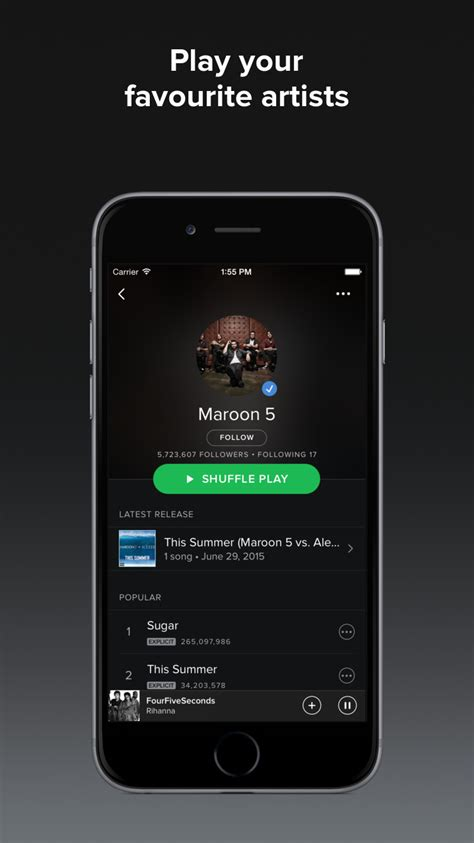 spotify premium free iphone spotify update lets you use 3d touch to view recently