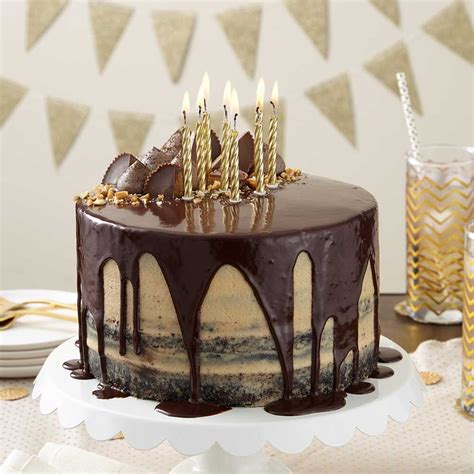chocolate peanut butter cake wilton