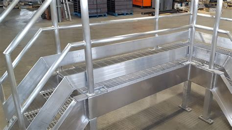 Commercial Metal Handrails, Stairs, And Ladders