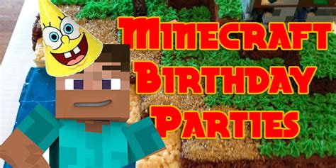 These Families Had The Best Minecraft Birthday Party