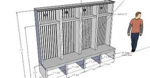 house plans with mudrooms diy mudroom lockers for the home room