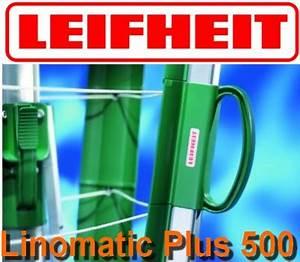 Leifheit Wäschespinne Linomatic : leifheit w schespinne linomatic plus 500 spitzenmodell ebay ~ Eleganceandgraceweddings.com Haus und Dekorationen