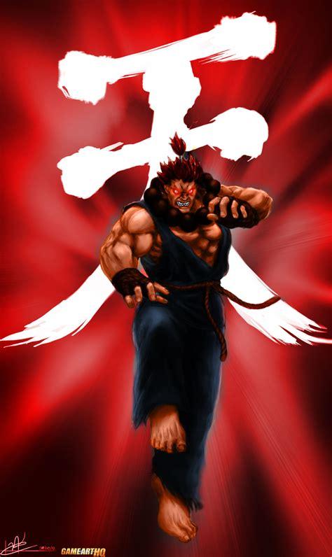 Street Fighter Fan Art For Rose Akuma And Dan Hibiki