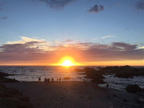 Sunset At Asilomar State Beach Pacific Grove Best