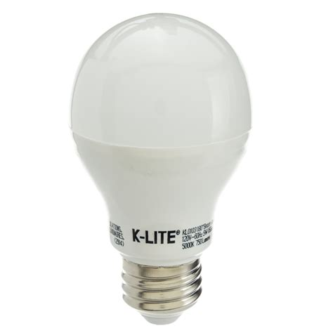 9w led light bulb daylight temperature 5000k a19
