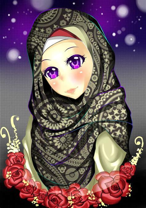images  hijab anime  pinterest muslim girls smileys  sweet
