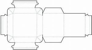 die cutting image of cylinder box templates no02 With cylinder packaging template
