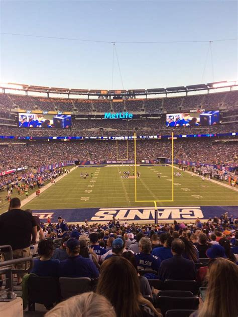 metlife stadium section  home   york jets