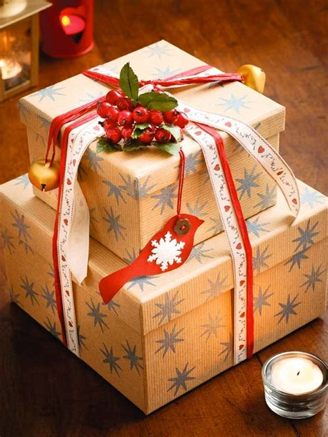 gift wrapping ideas  christmas inspired luv