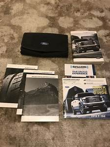 2013 Ford F150 Owners Manual With Case Oem Free Shipping