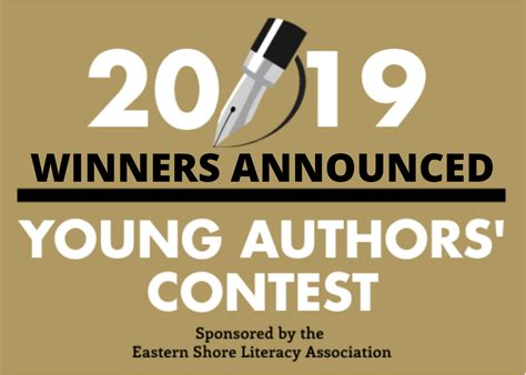 winners named esla young authors contest worcester county public