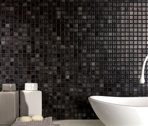 piastrelle in mosaico per bagno rivestimenti bagno in mosaico nero e i suoi costi